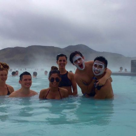 A small group of adventure travelers exploring Iceland for 6 days